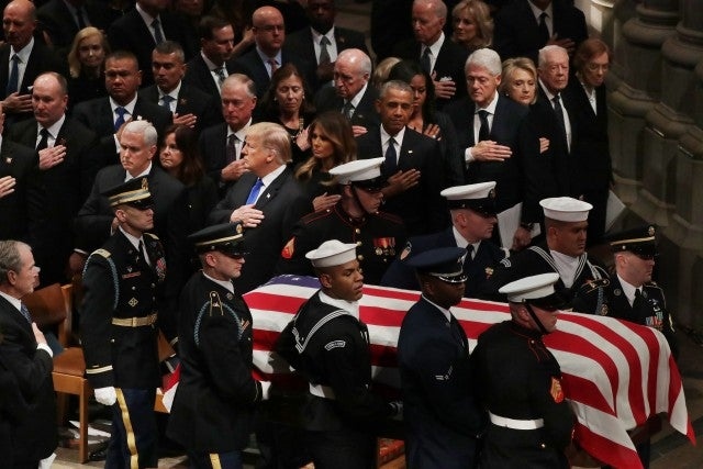 George H.W. Bush's funeral