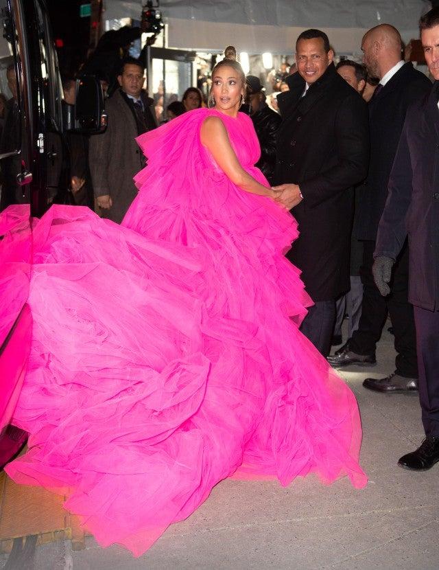 Jennifer Lopez Alex Rodriguez Second Act NY Premiere