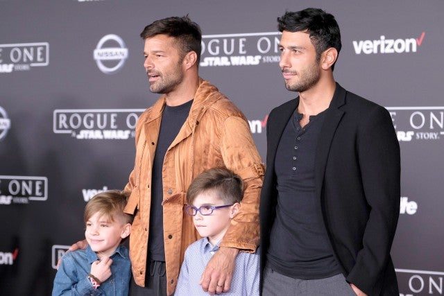 Ricky Martin is 'beyond happy' as the singer announces birth of daughter Lucia Martin-Yosef