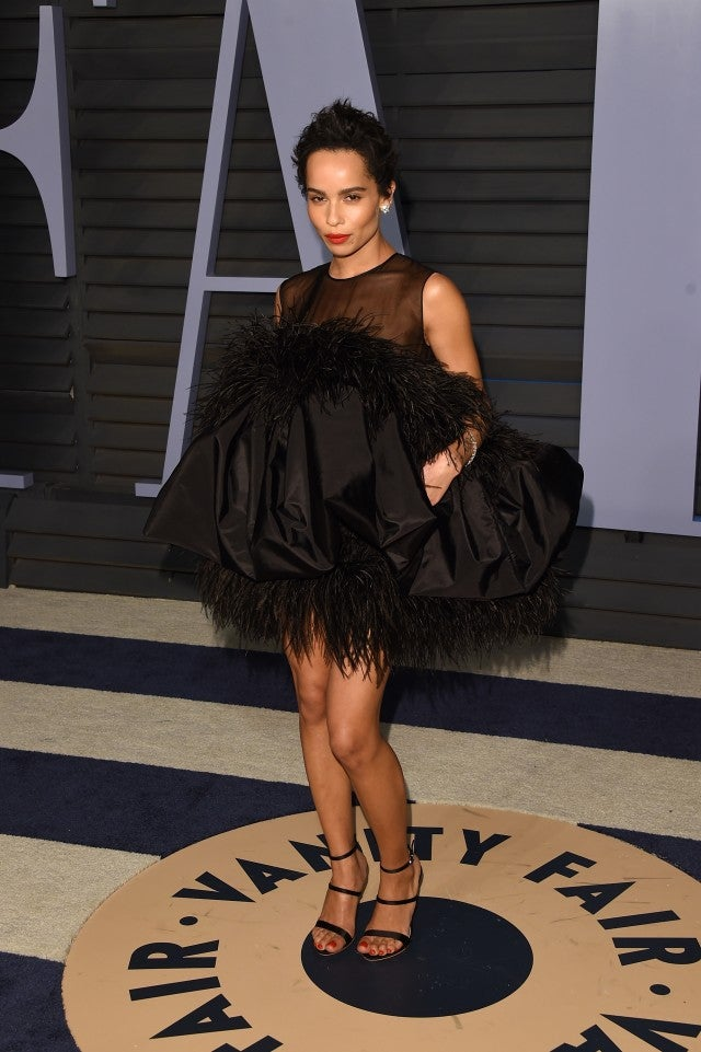 Zoe Kravitz at Vanity Fair Oscar Party