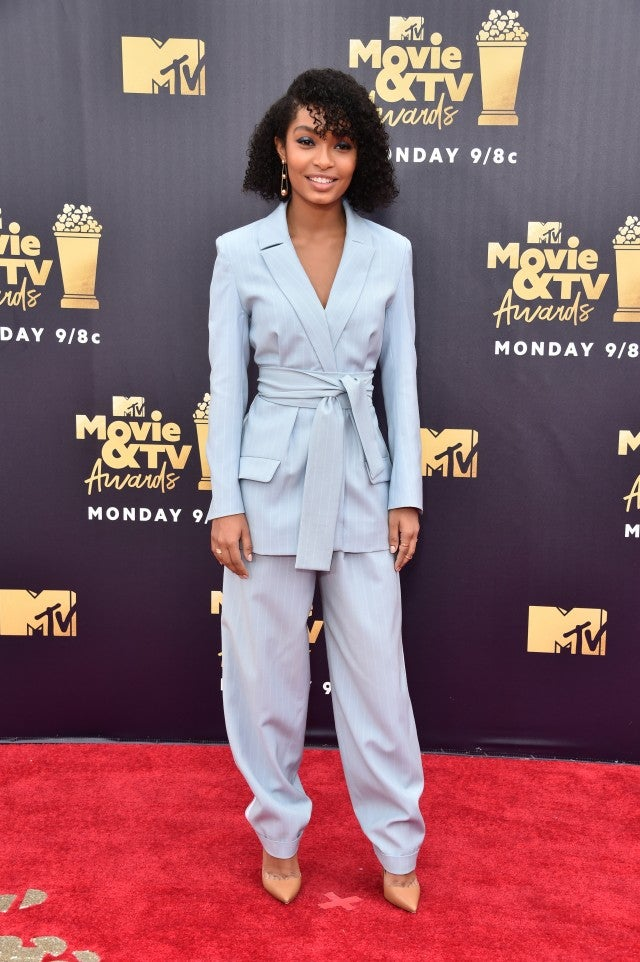 Yara Shahidi at 2018 MTV Movie Awards