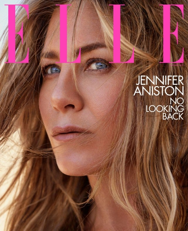 Jennifer Aniston in Elle