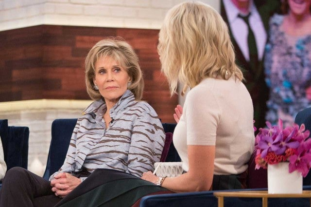 Megyn Kelly Interviews Jane Fonda in September 2017