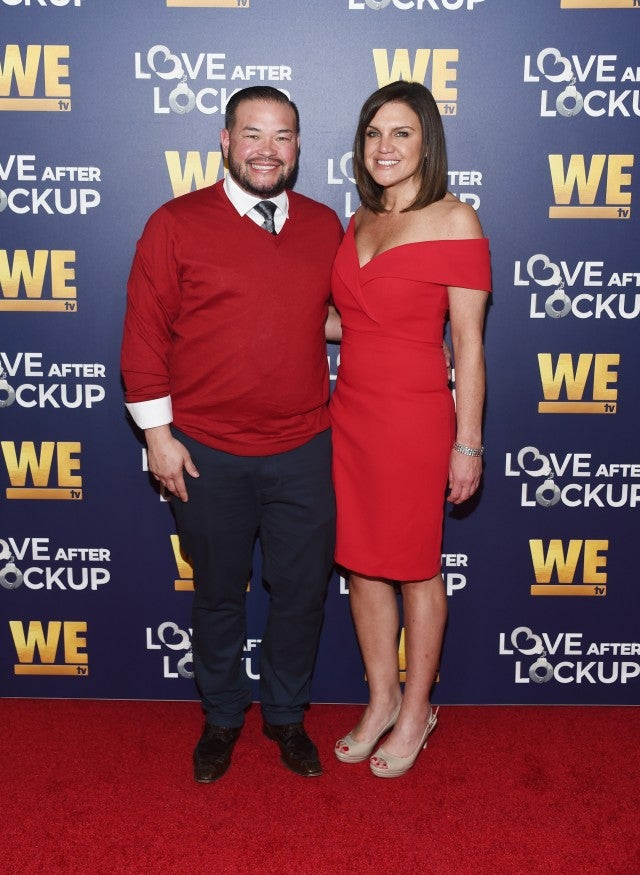 Jon Gosselin and Colleen Conrad arrive at WE tv's Real Love: Relationship Reality TV's Past, Present & Future event at The Paley Center for Media on December 11, 2018 in Beverly Hills, California.