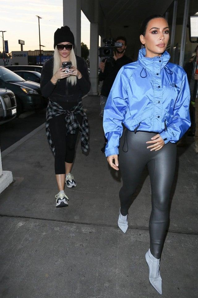Khloe Kardashian Heads To Petsmart With Sister Kim Kardashian To Pick Up A Little Friend For