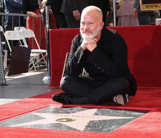 Ryan Murphy gets a star on the Hollywood Walk of Fame on Dec. 4