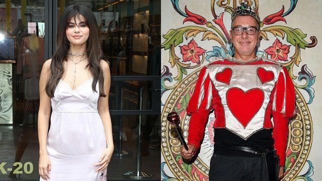 Selena Gomez and Stefano Gabbana