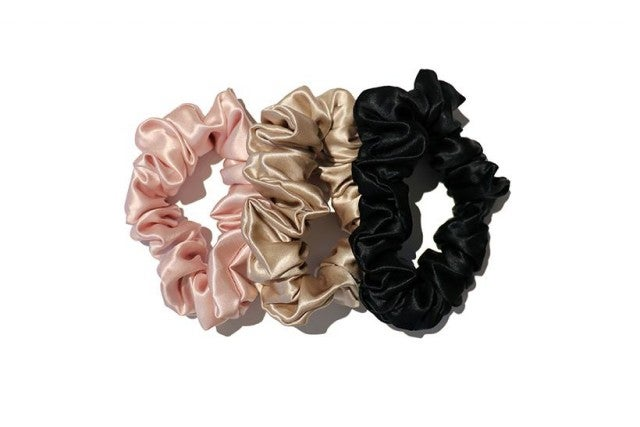 Slip scrunchies