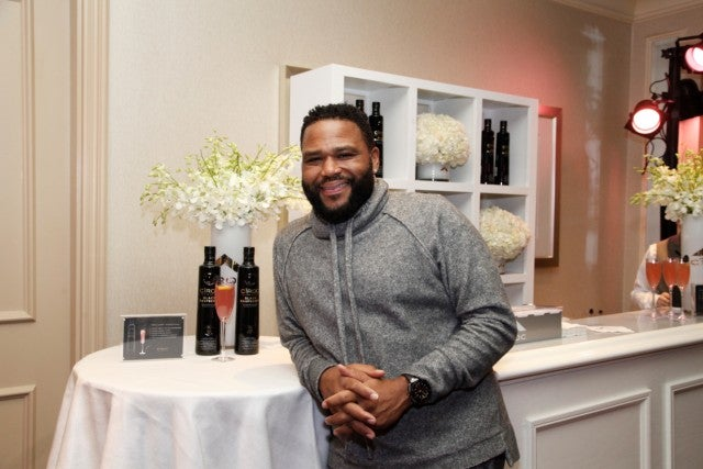 Anthony Anderson CÎROC x HBO Golden Globes Luxury Lounge