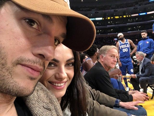 Kutcher dating Kunis