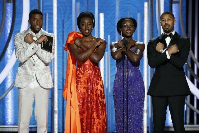 'Black Panther' cast