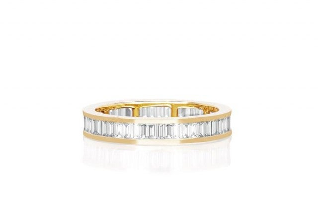 EF Collection baguette eternity ring
