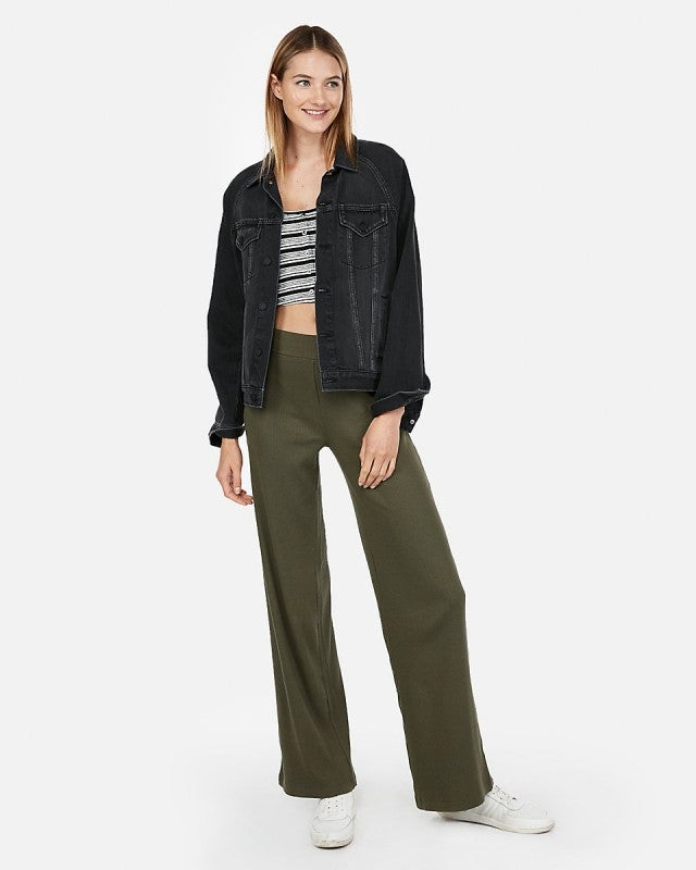 Express olive green pant