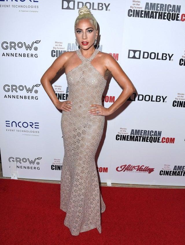 Lady Gaga 32nd American Cinematheque Award Presentation Honoring Bradley Cooper