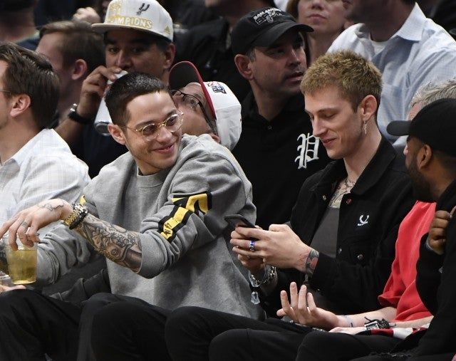 Pete Davidson and Machine Gun Kelly