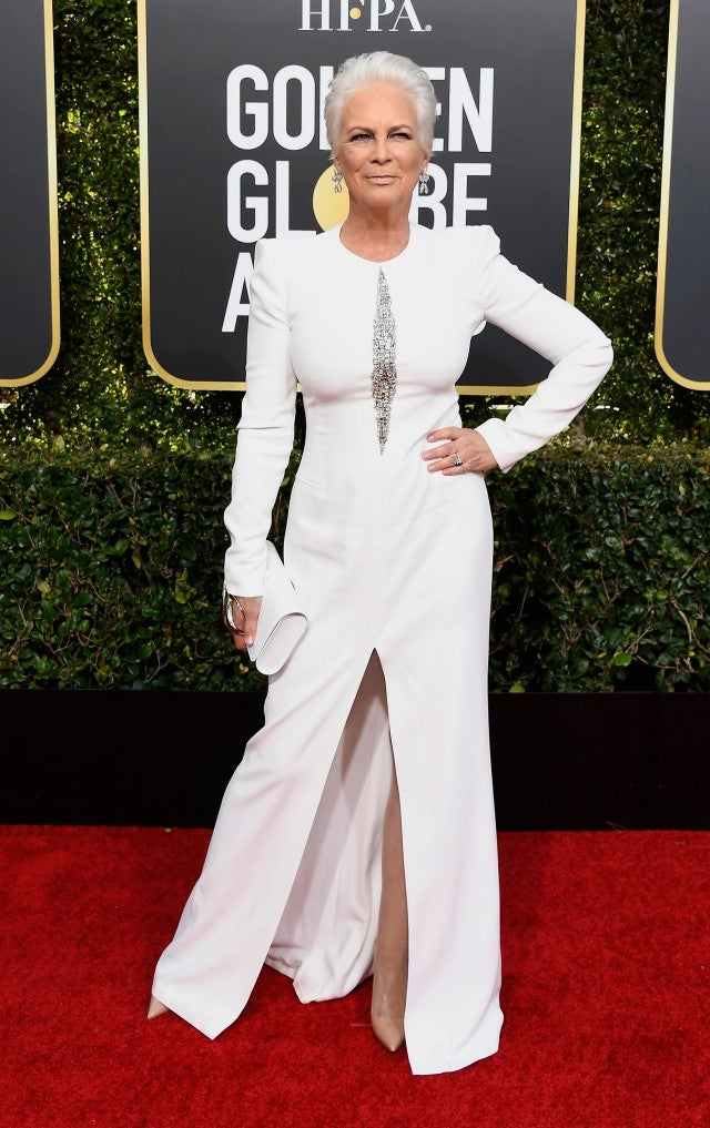 Jamie Lee Curtis at 76th Annual Golden Globe Awards