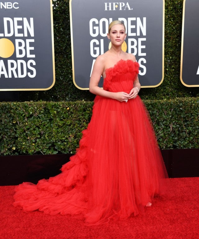 Lili Reinhart at 76th annual Golden Globe Awards