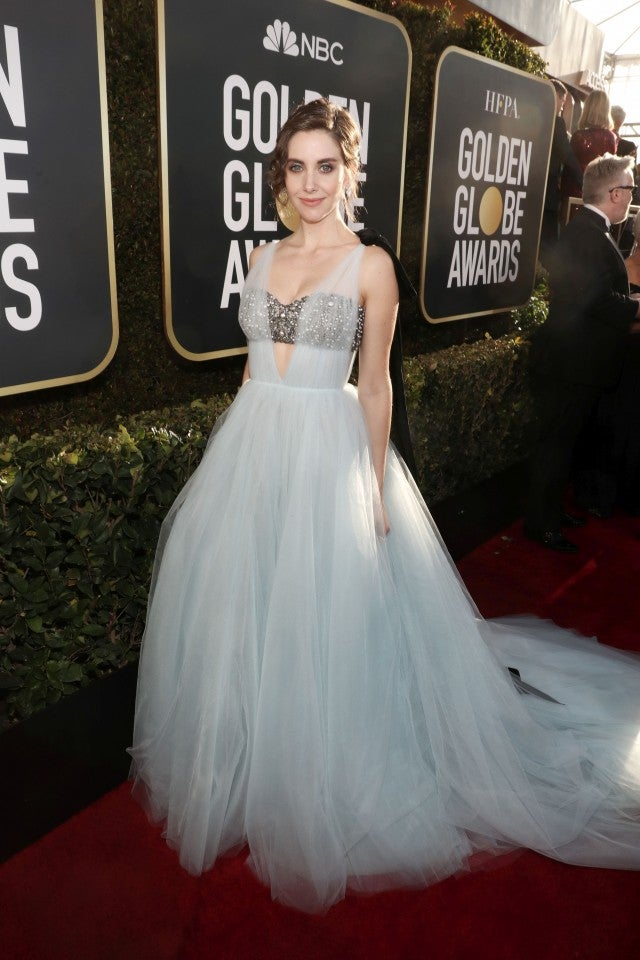 Alison Brie 2019 Golden Globes
