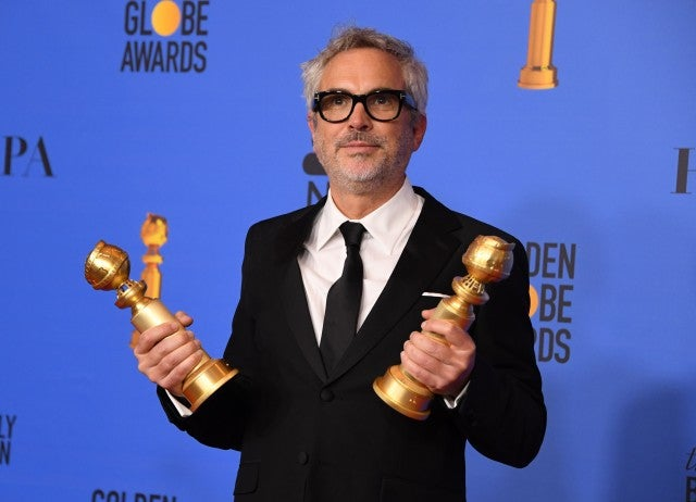 2019 Golden Globes, Alfonso Cuaron