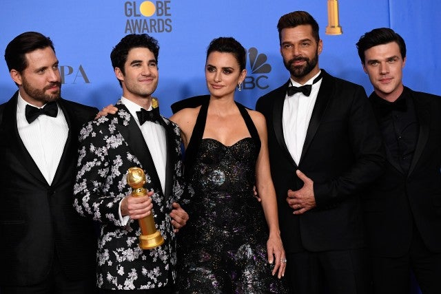 2019 Golden Globes, Assassination of Gianni Versace: American Crime Story