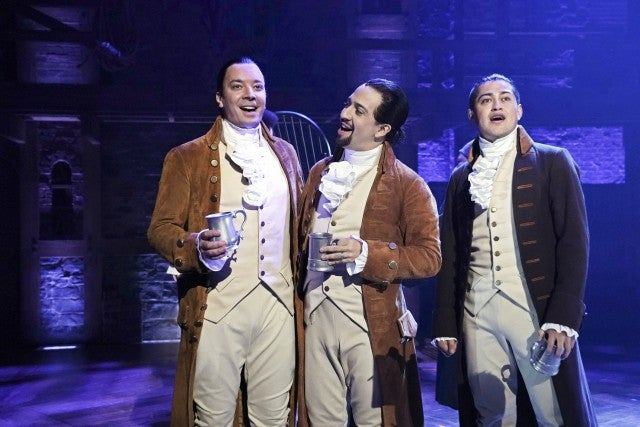 Jimmy Fallon Joins Lin-Manuel Miranda for 'Hamilton' Performance in Puerto Rico