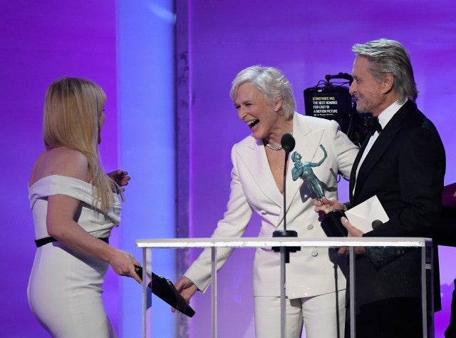 Glenn Close, Michael Douglas, SAG Awards 2019