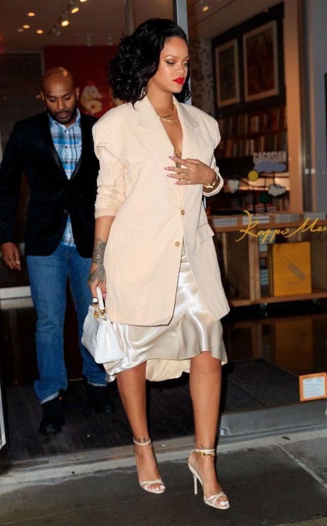 bbbb01612a7d Meghan Markle and Rihanna Wear the Beige Trend