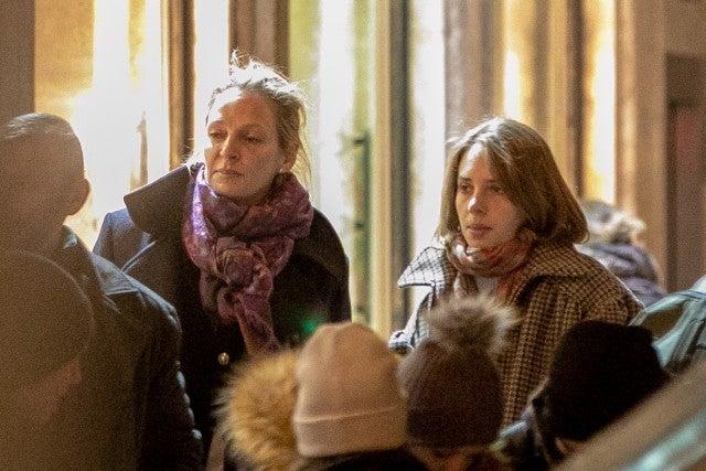 Uma Thurman and Maya Hawke