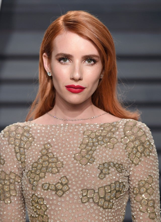 Emma Roberts red hair