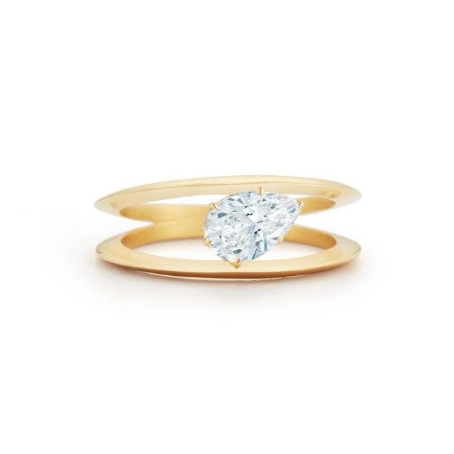 Jade Trau solitaire ring