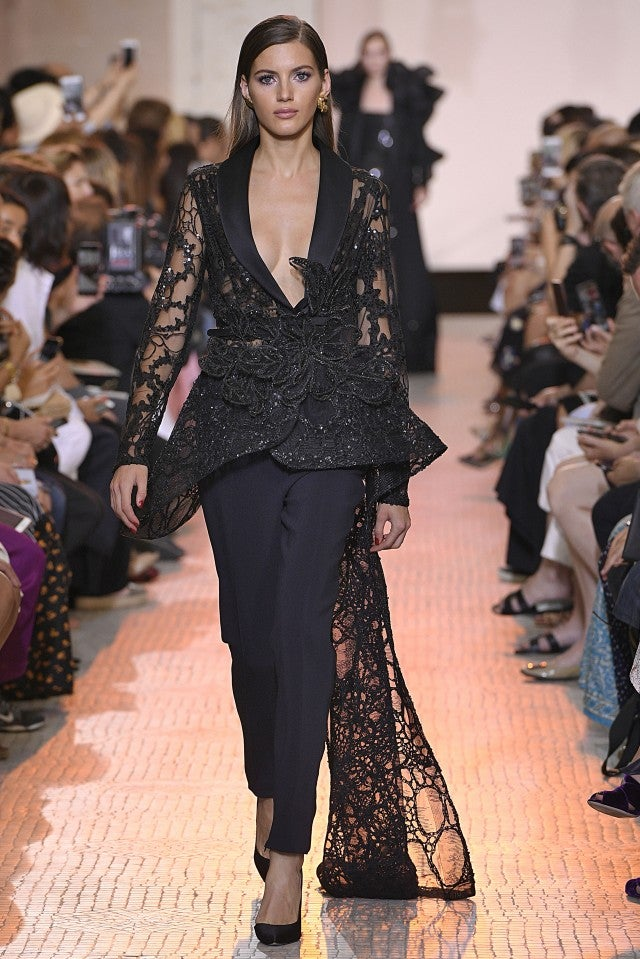 Elie Saab couture fall 2019 top and pant
