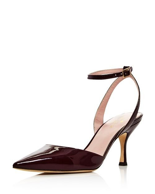 Kate Spade patent leather pump