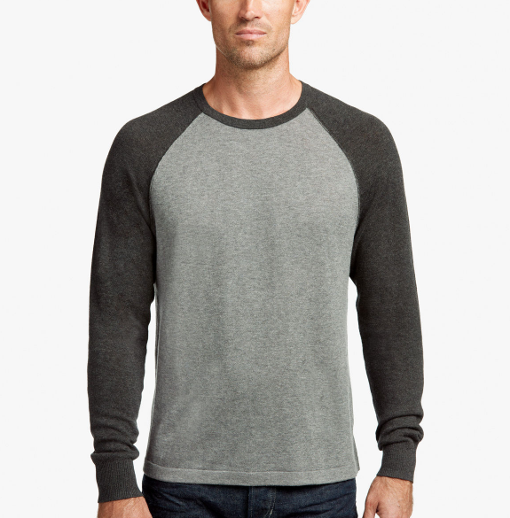 James Perse cashmere raglan sweater