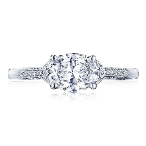 Tacori oval engagement ring