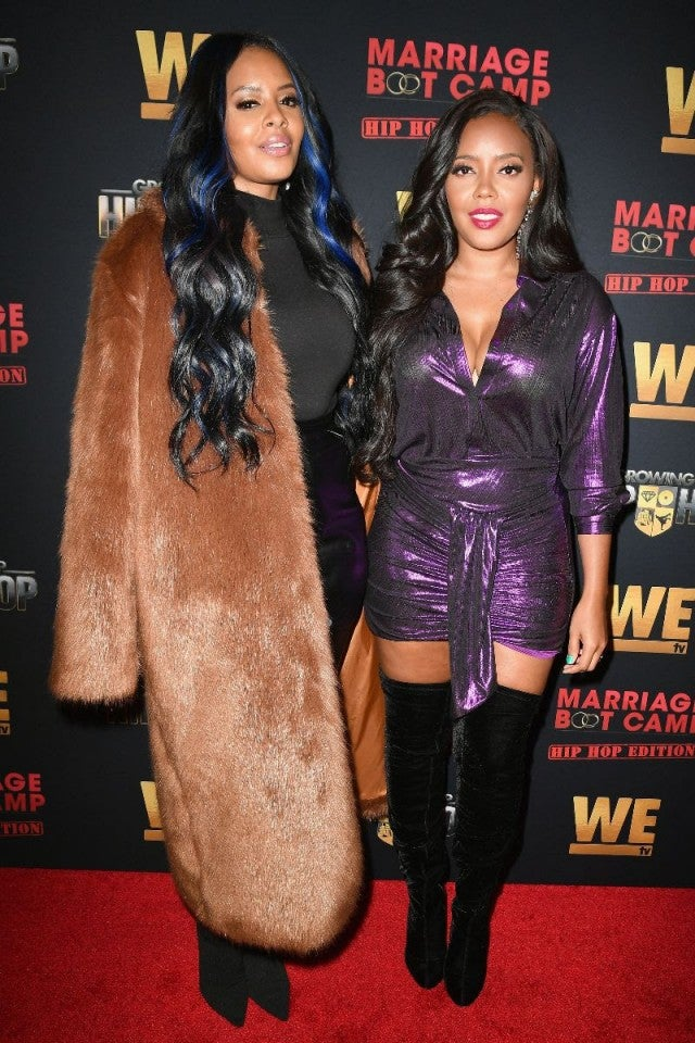 Angela Simmons, Vanessa Simmons 'GUHH' premiere party