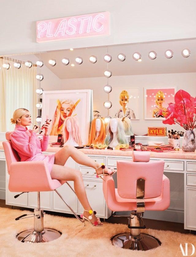 Kylie Jenner Pink Glam Room