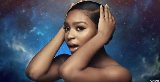 Normani Kordei in Waves music video