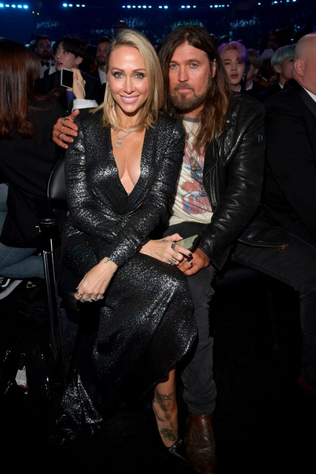 Trish and Billy Ray Cyrus