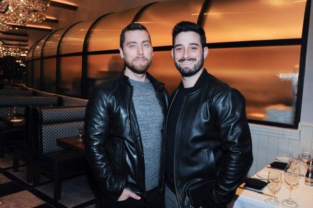 Lance Bass and husband Michael Turchin