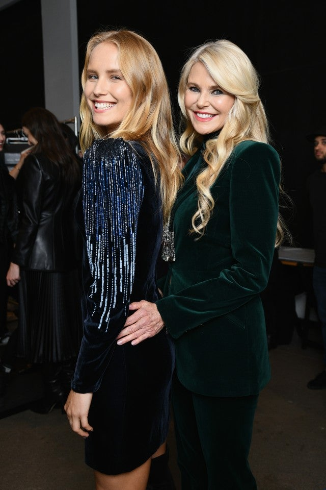 ebe9a74d314 Christie Brinkley Walks the Runway With Daughter Sailor in New York ...