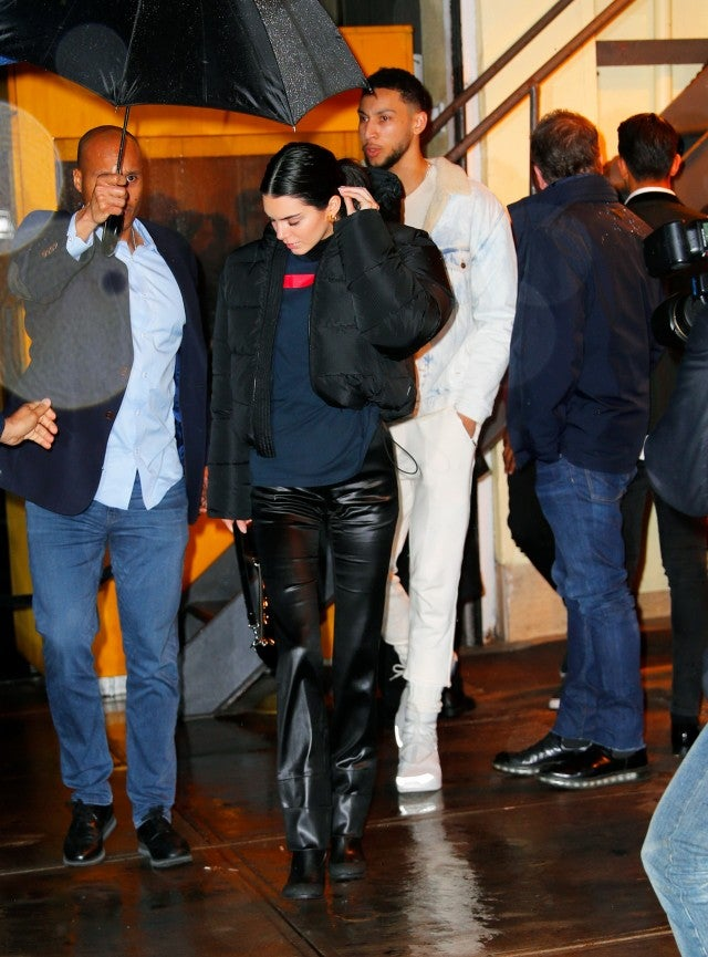 Kendall Jenner and Ben Simmons NYC