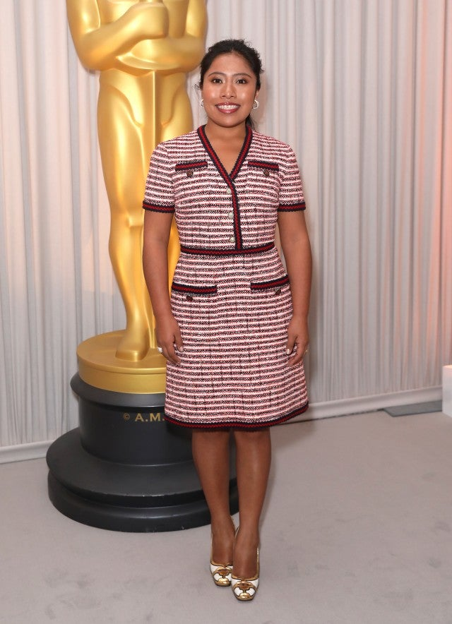Yalitza Aparicio Oscars Nominee Champagne Tea Reception
