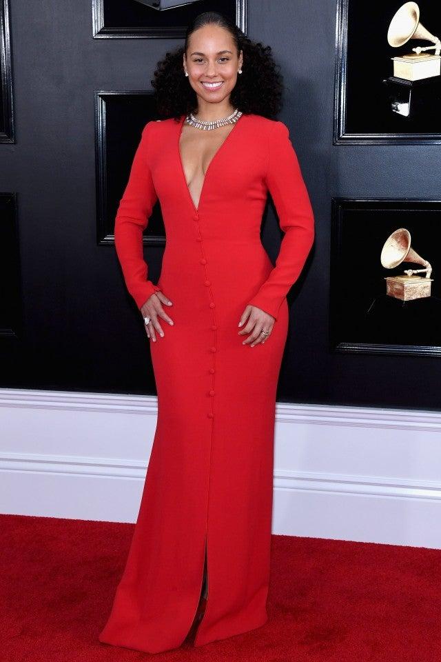 Alicia Keys at 2019 grammys