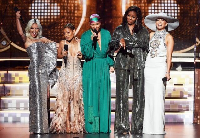 2019 GRAMMYs, Lady Gaga, Michelle Obama