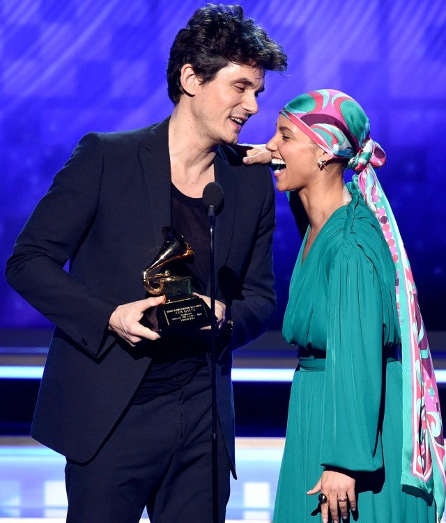 John Mayer and Alicia Keys