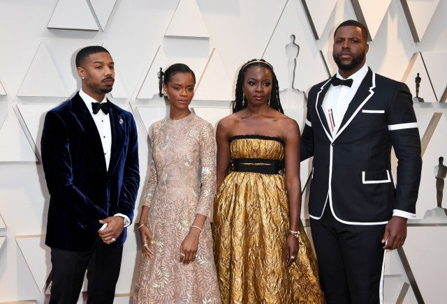 'Black Panther' Oscar Winners Make History