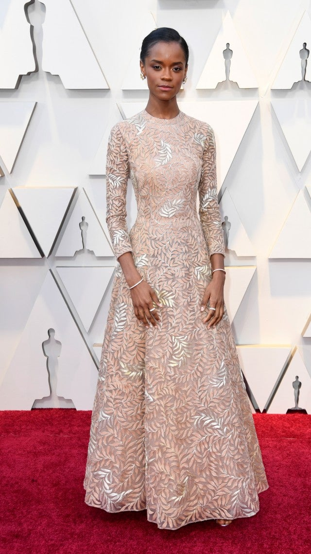 Image result for letitia wright oscars
