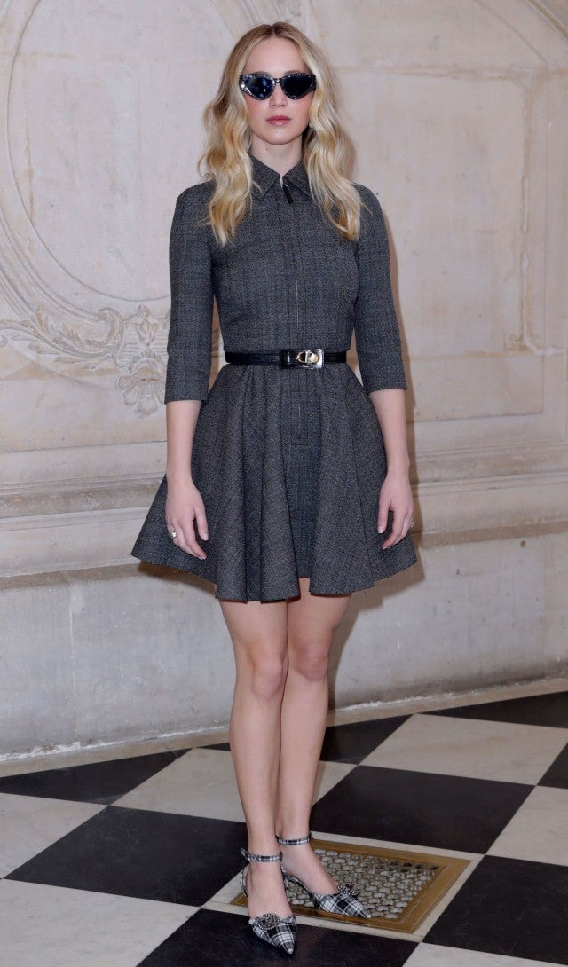Jennifer Lawrence Shows Off Engagement Ring In First