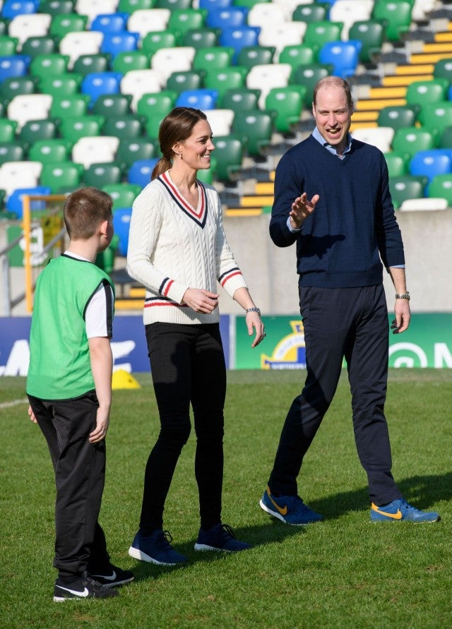 Kate Middleton and Prince William in Belfast