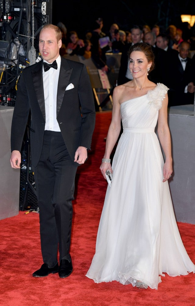 Prince William and Kate Middleton at BAFTAs 2019